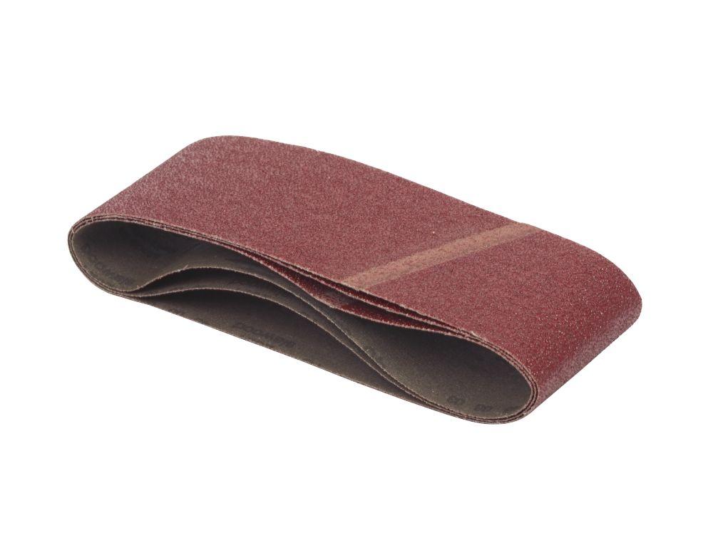 DeWalt 75 x 457mm 40 Grit Sanding Belt Pack of 3
