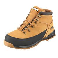JCB 3CX/H Safety Hiker Boots Honey Size 8
