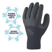 Skytec Argon Thermal Argon Thermal Grip Gloves Black X Large