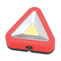 Hilka Pro-Craft White / Red Magnetic Emergency Hazard Warning Light 3W 182mm