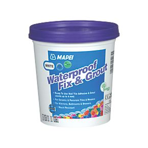 Mapei Waterproof Fix Grout White Wall Tile Adhesive Grout