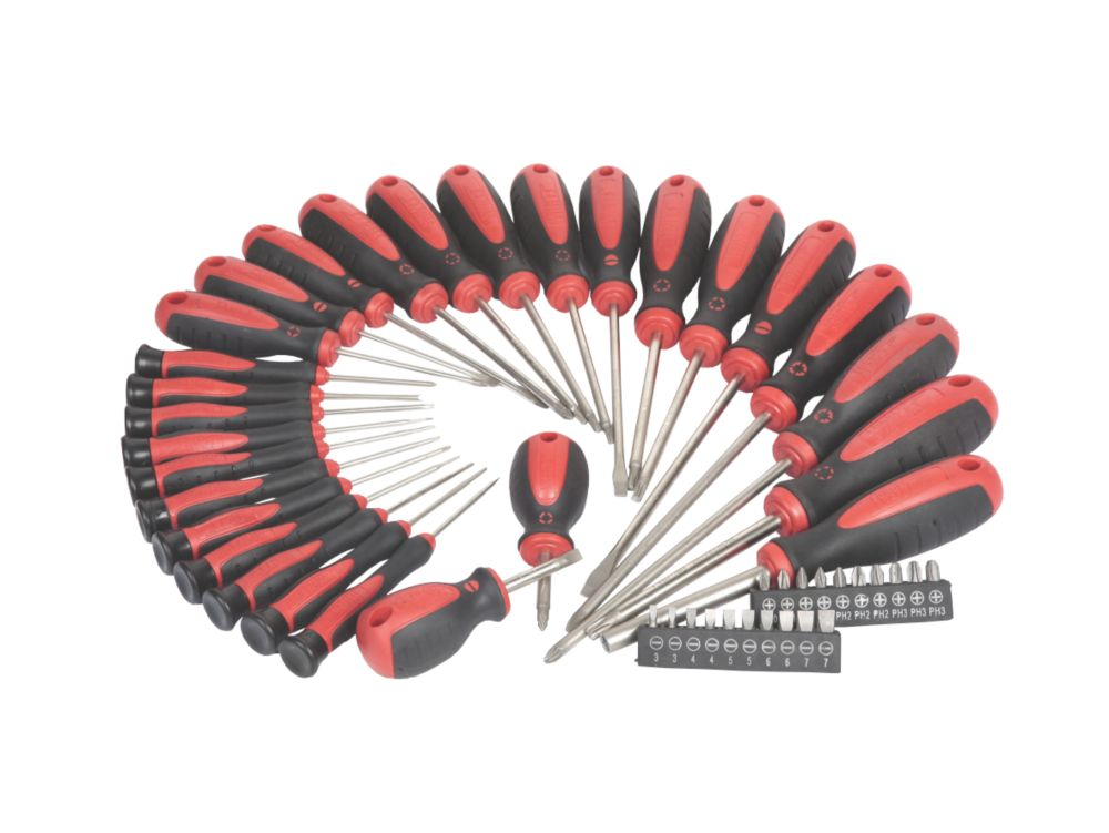 Forge Steel Screwdriver & Bit Set 30Pcs