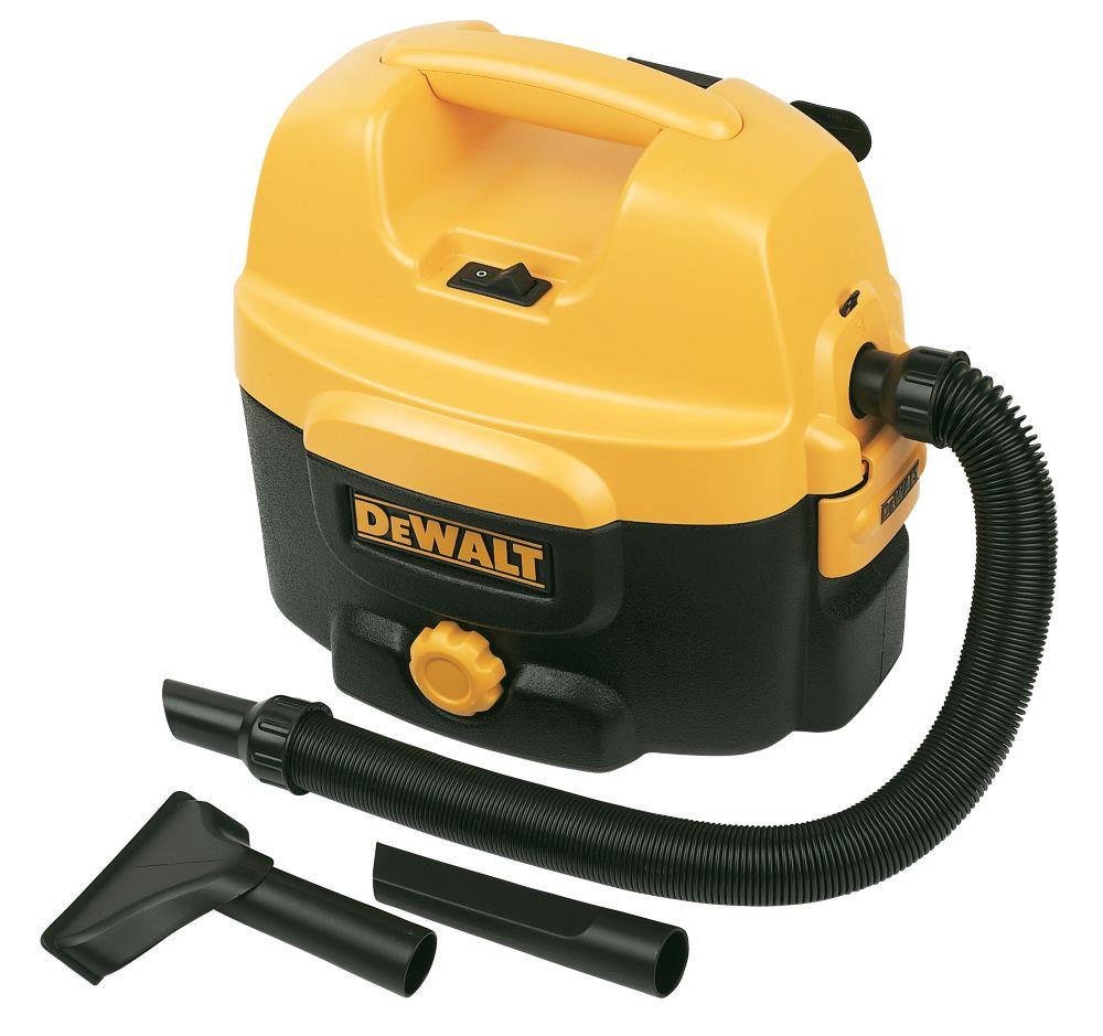 DeWalt 300W 7.5Ltr Corded / Cordless Site Vacuum Cleaner 240V