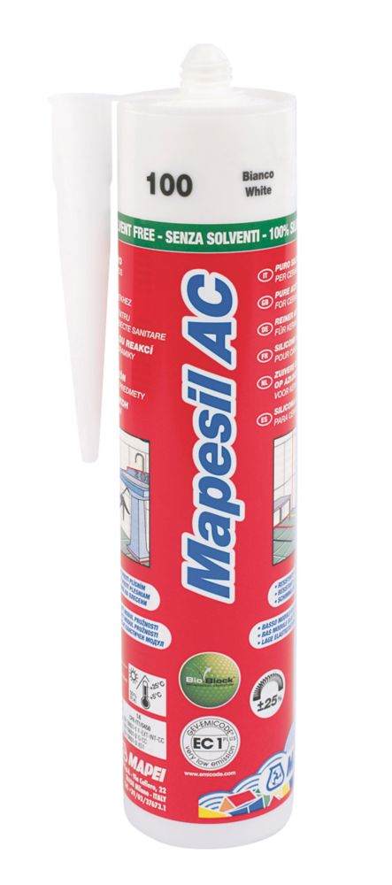 Mapesil Sealant White 310ml
