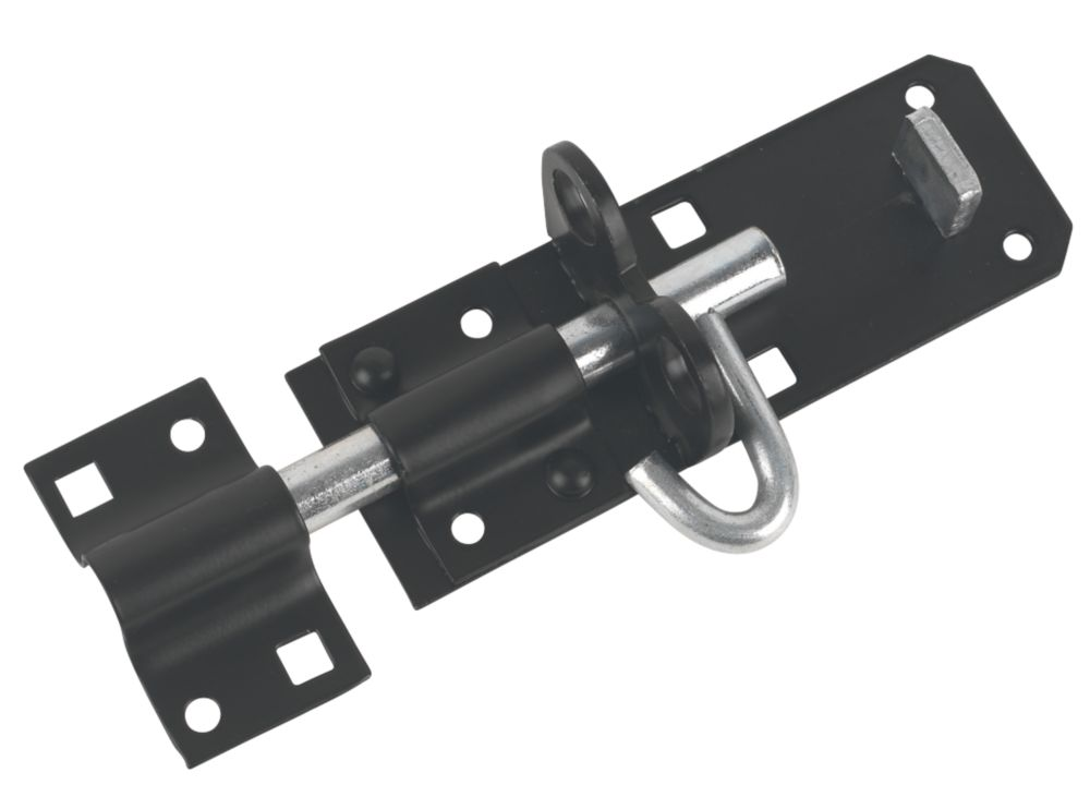 Brenton Gate Bolt Black 101mm