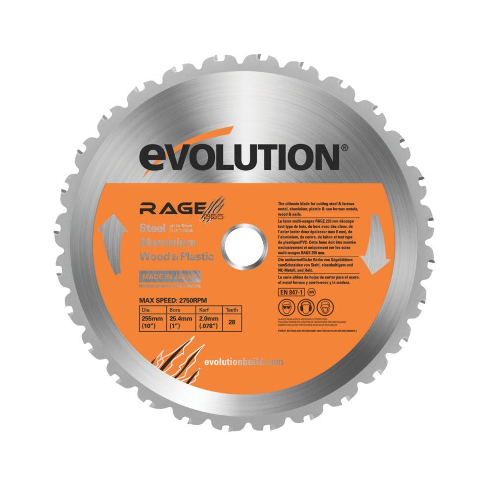 Evolution Rage Multi Purpose Blade 255mm