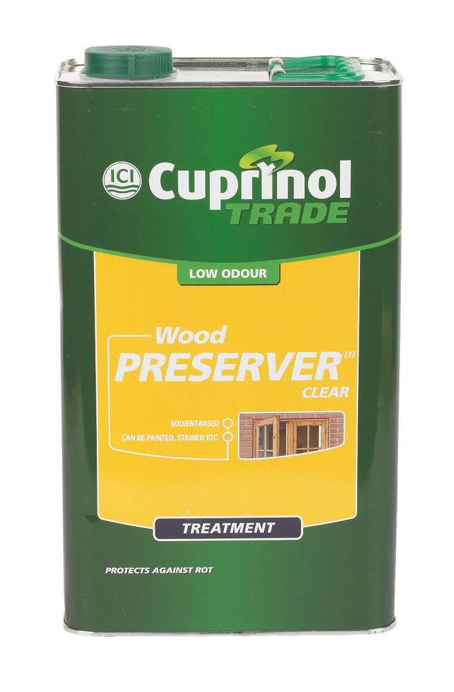 Cuprinol Clear Wood Preserver 5Ltr
