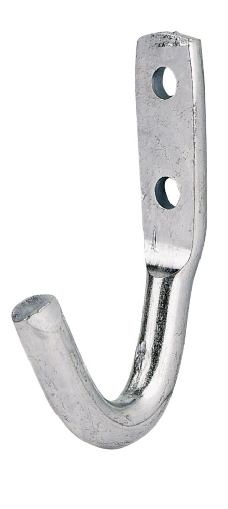 General Hooks Galvanised 30mm Pack of 5