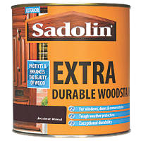 Sadolin Exterior Woodstain Translucent Semi-Gloss Jacobean Walnut 1Ltr