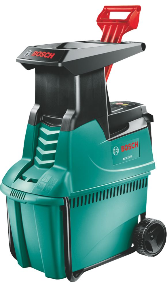 Bosch AXT25D 2500W 190kg/hr Electric Garden Shredder 230V