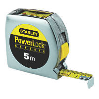 Stanley PowerLock Top Reader Tape Measure 5m x 19mm