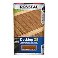 Ronseal Decking Oil Natural Cedar 5Ltr