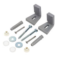 Fischer WB5N WC & Bidet Side Fixing Kit