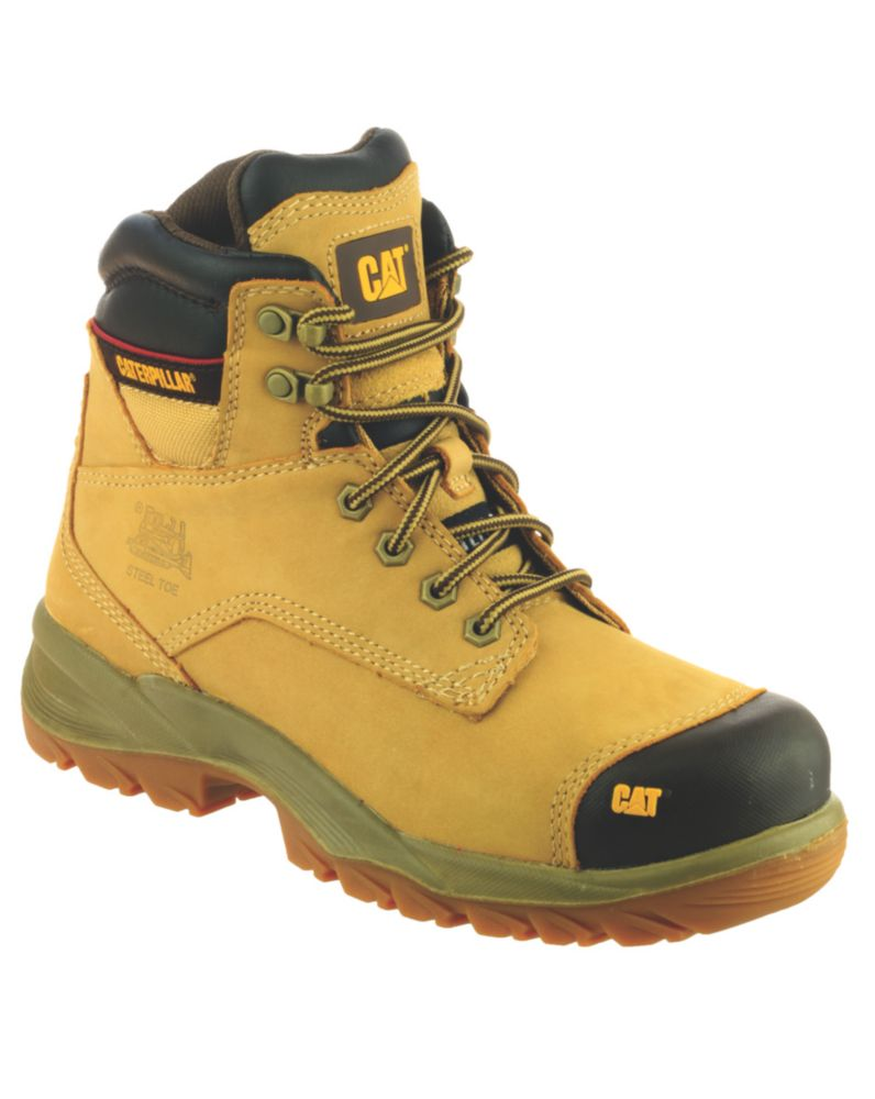Caterpillar Spiro S3 Honey Safety Boots Size 10