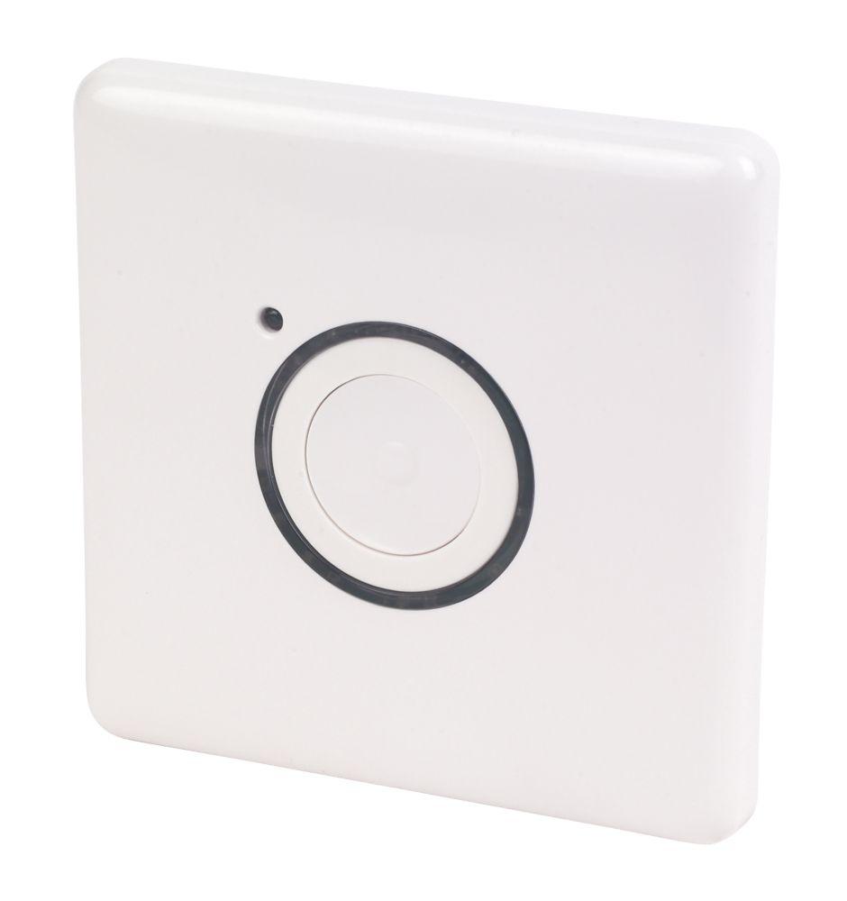 2 Wire Master Push Button White
