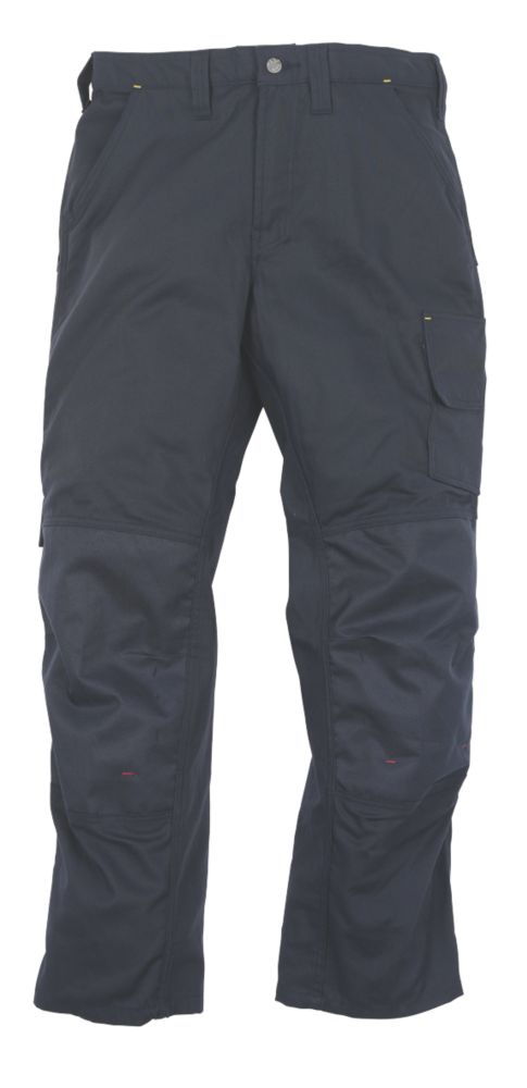 "Snickers Classic Work Trousers Navy 38"" W 32"" L"