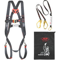 JSP Spartan Twin Tail Fall Arrest Kit with 2m Lanyard