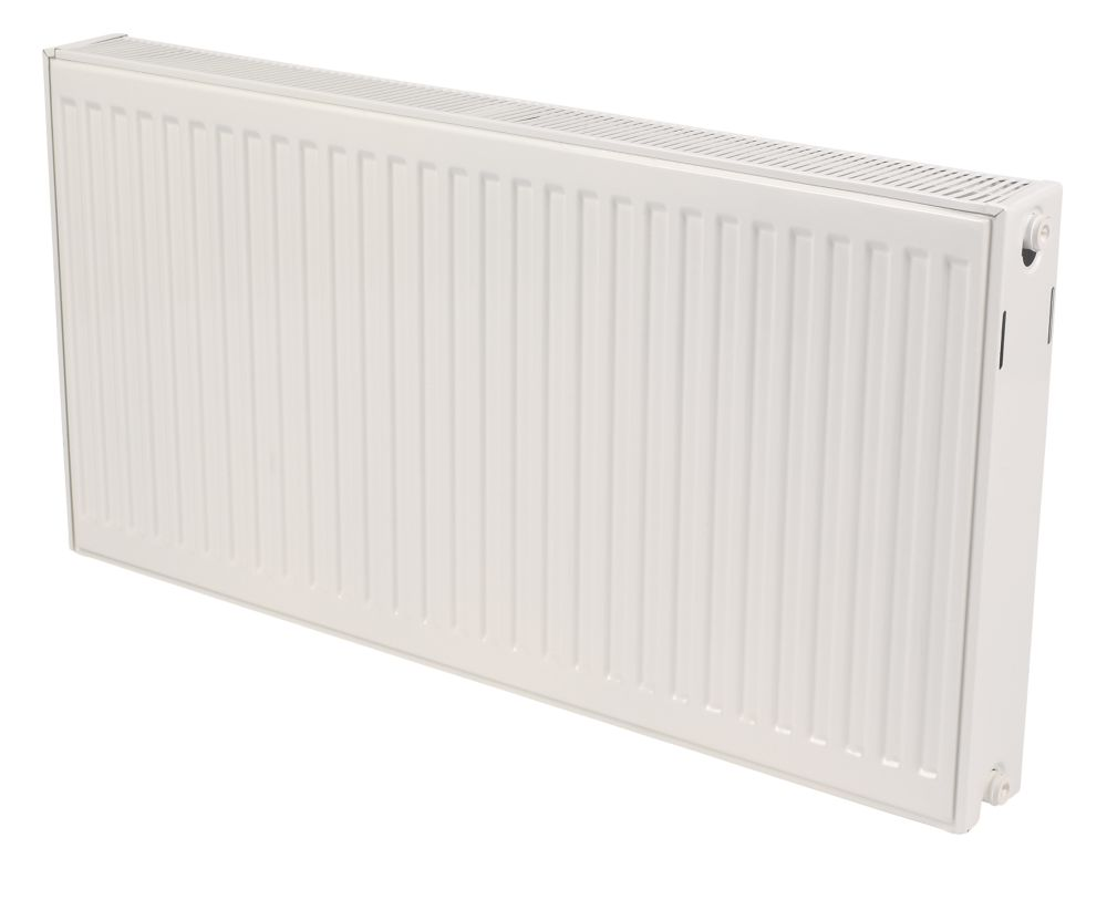 Kudox Premium Type 22 Double Panel Double Convector Radiator White 600x1000