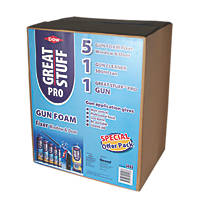 Dow Great Stuff Pro Gun Foam Window & Door Fixer Kit  750ml