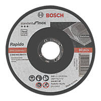 Bosch Metal Cutting Discs 115 x 1 x 22.23mm Pack of 10