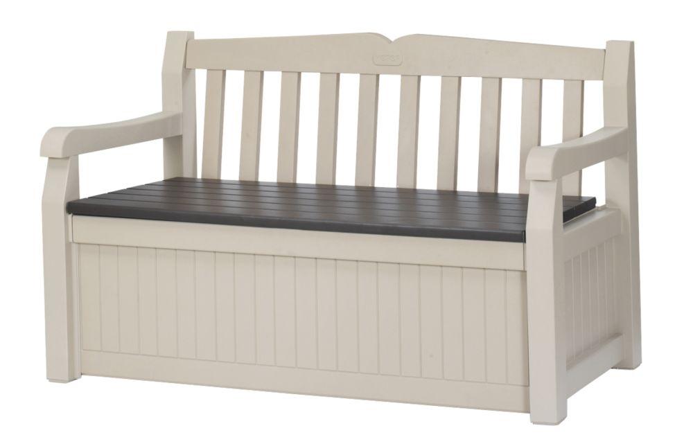 Keter Eden Garden Storage Bench 1.4 x 0.6 x 0.8m