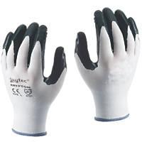 Skytec Krypton Krypton Gloves White/Dark Green X Large