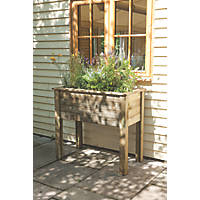 Forest Rectangular Planter Table  1000 x 500 x 870mm