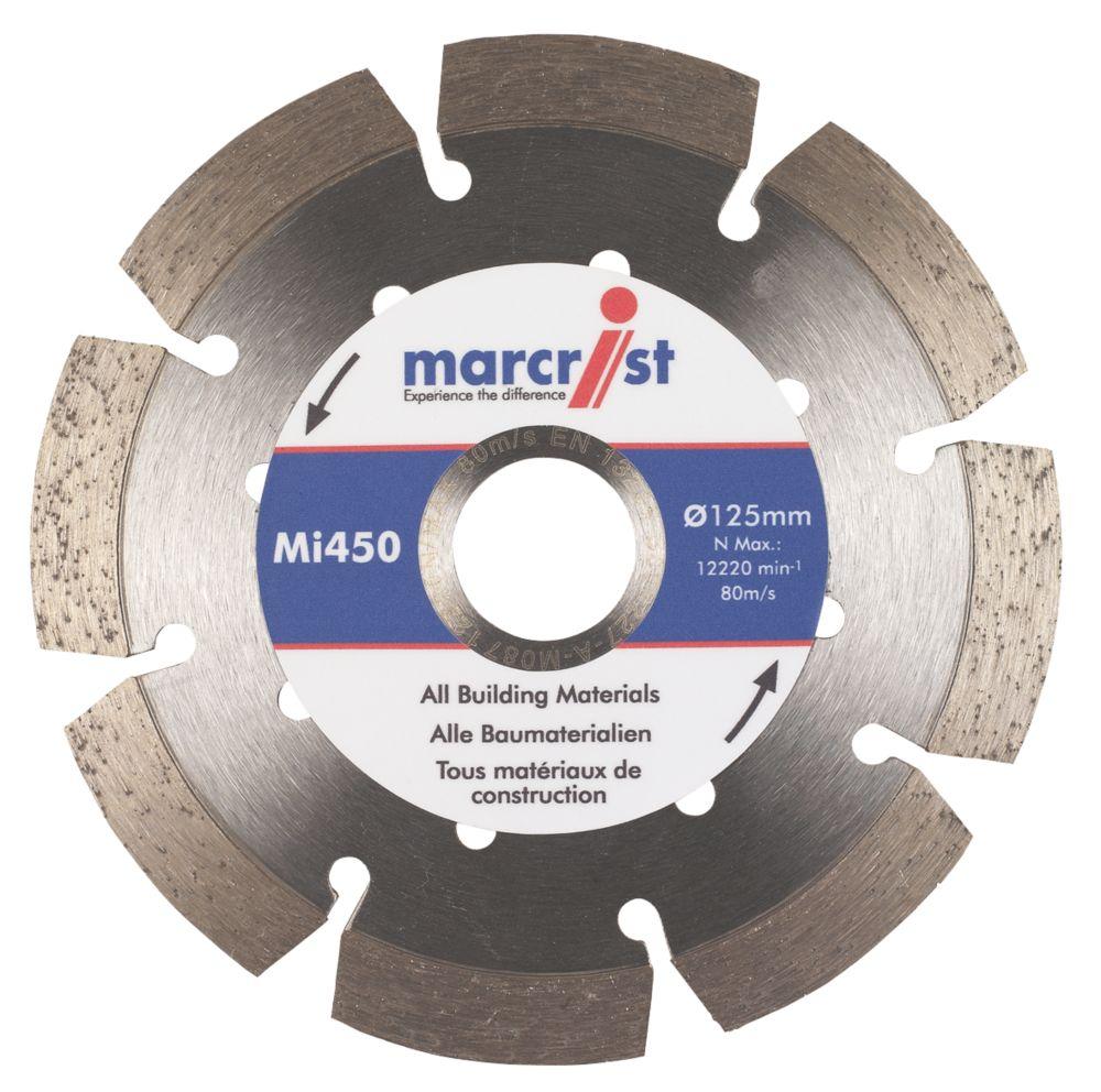 Marcrist MI450 Diamond Blade 125 x 22.23mm