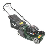 Webb WERR17 43cm N/Ahp 140cc Self-Propelled Rotary 3-in-1 Petrol Lawn Mower