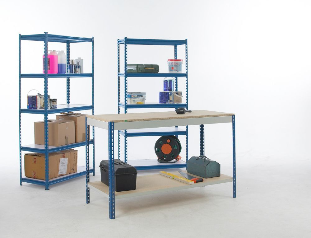 Workshop Workbench & Shelving Starter Kit 1