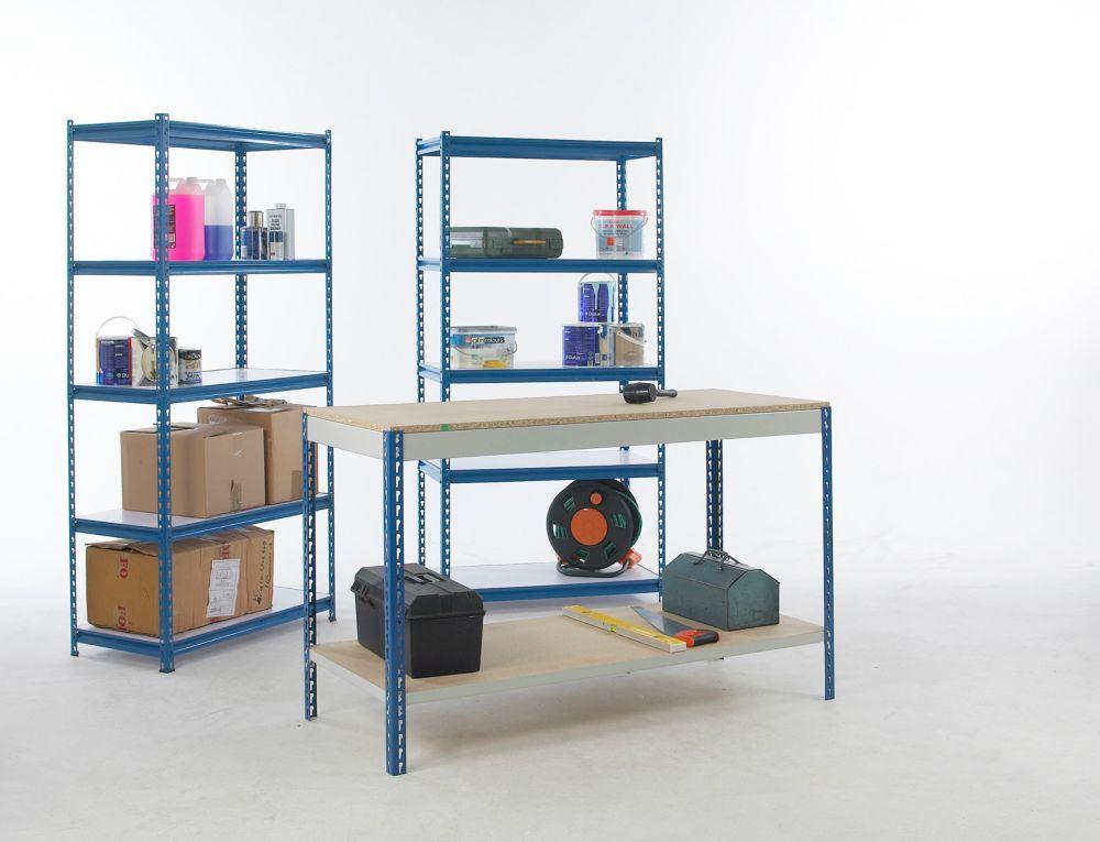 Workshop Workbench & Shelving Starter Kit 1