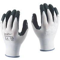 Skytec Krypton Krypton Gloves White/Dark Green Large