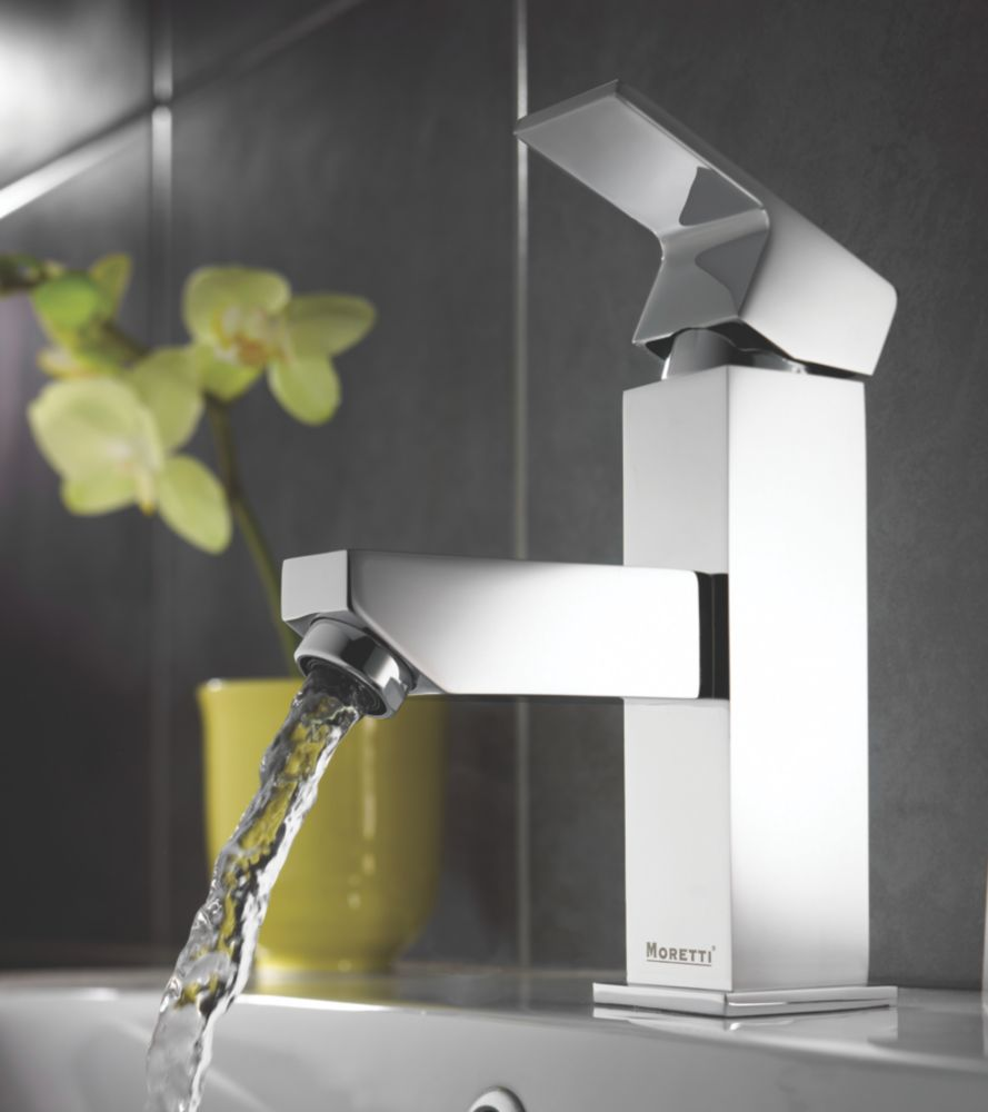 Moretti Quadrata Bathroom Mono Basin Mixer Tap
