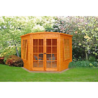 Corner Summerhouse Assembly Included 2.1 x 2.1m