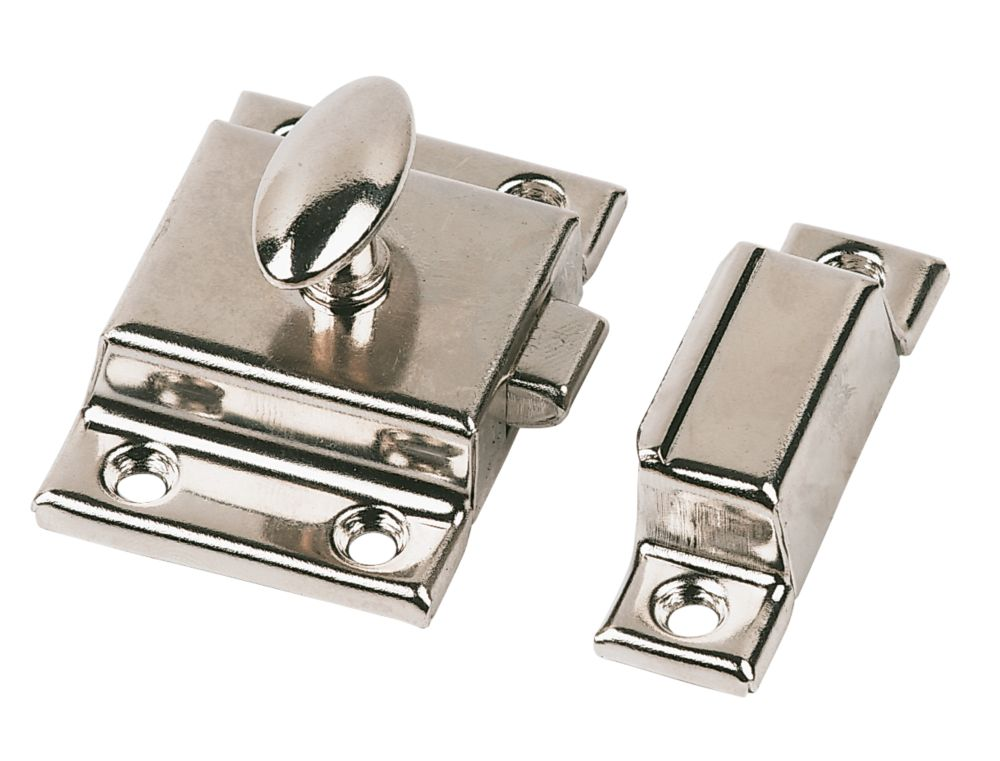 Cupboard Nickel Plated 54 x 54mm