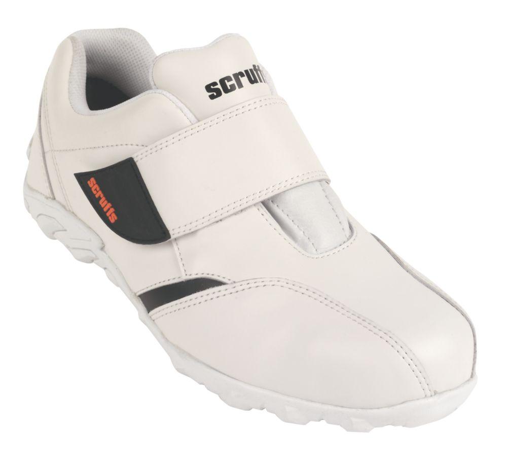 Scruffs Horizon Safety Trainers White Size 9