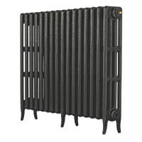 Arroll  4-Column Cast Iron Radiator  760 x 874mm