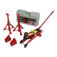 Hilka Pro-Craft 2-Tonne Trolley Jack Combi Kit