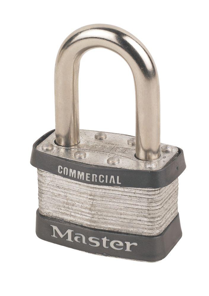 Master Lock Laminated Padlock 54mm L/Shackle