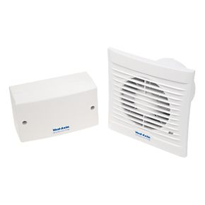 Vent Axia 100SVT 8 7W Axial Bathroom Timer Extractor Fan