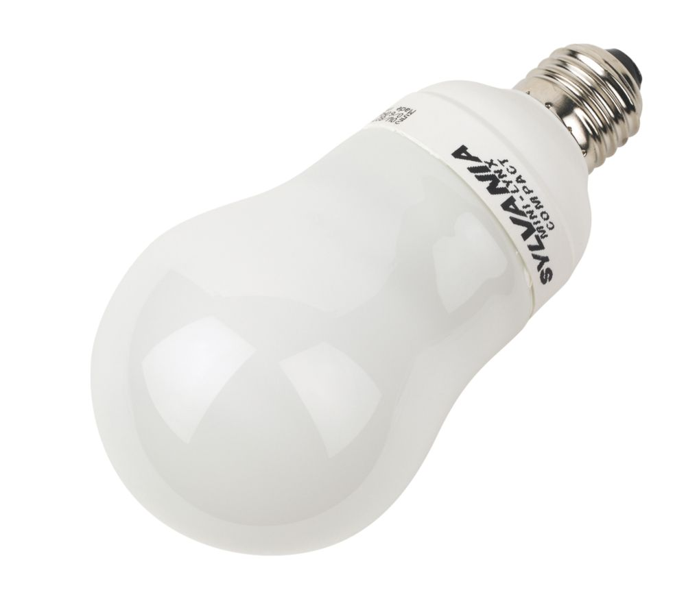 Sylvania Lynx GLS Compact Fluorescent Lamp ES 1152Lm 20W