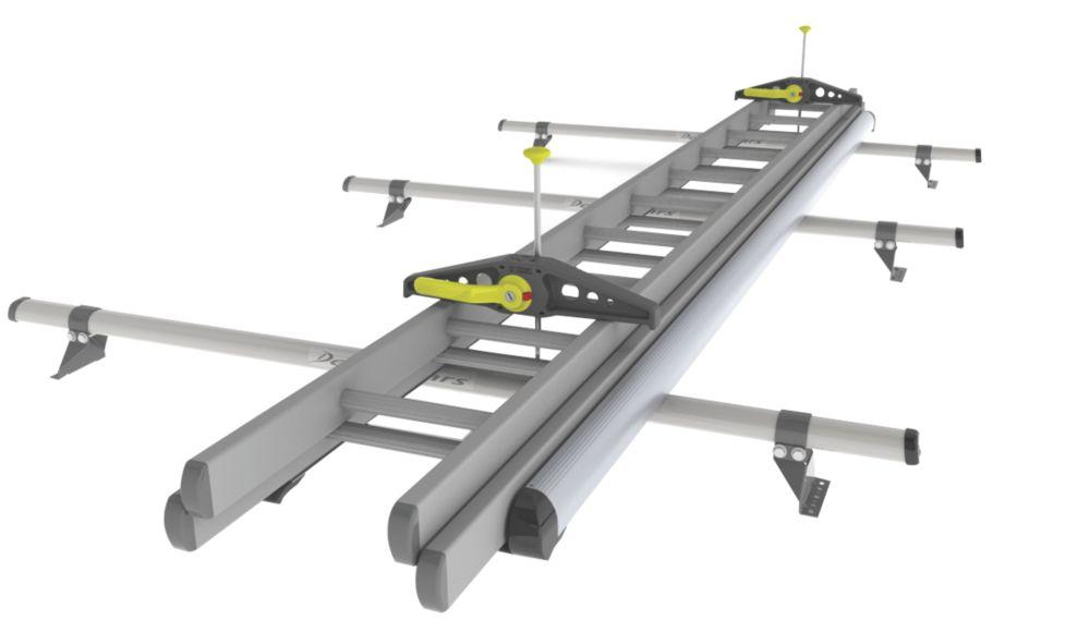 Rhino LadderStow 2.2m RAS31 Rhino Bar System Fitting Kit