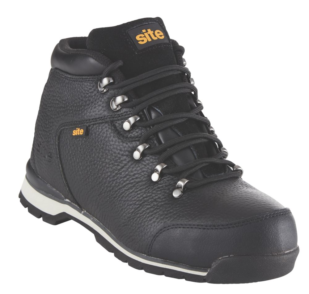 Site Meteorite Safety Boots Black Size 9