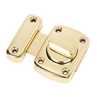 Thumbturn Lock Polished Brass Effect 40mm