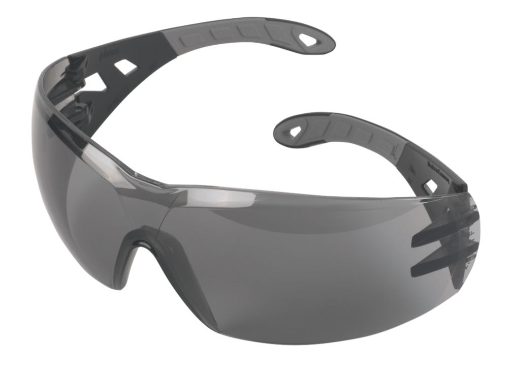 Uvex? Pheos Smoke Grey Lens Sports Safety Specs
