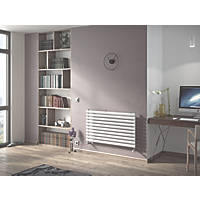 Moretti Ravello Horizontal Designer Radiator White 584 x 1200mm