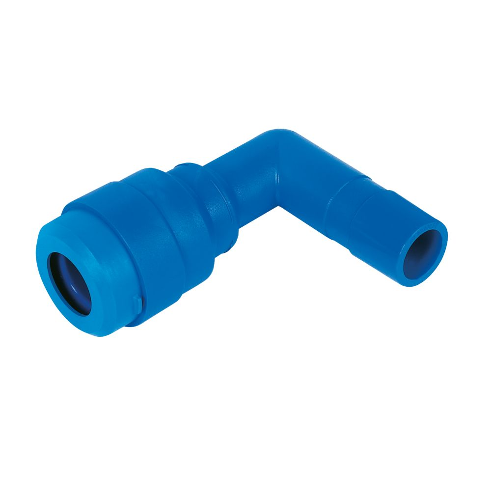 JG Speedfit 25mm MDPE Stem Elbow