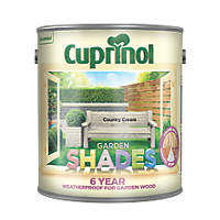 Cuprinol Garden Shades Wood Paint Country Cream 2.5Ltr