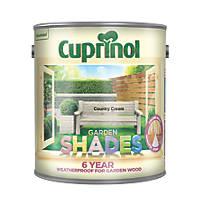 Cuprinol Garden Shades Wood Paint Matt Country Cream 2.5Ltr