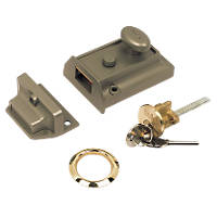 Yale 630077101322 Night Latch Bronze 60mm Backset